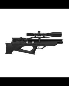 Aselkon MX10-S Black Bullpup PCP-Luftgevær - 4,5 mm.