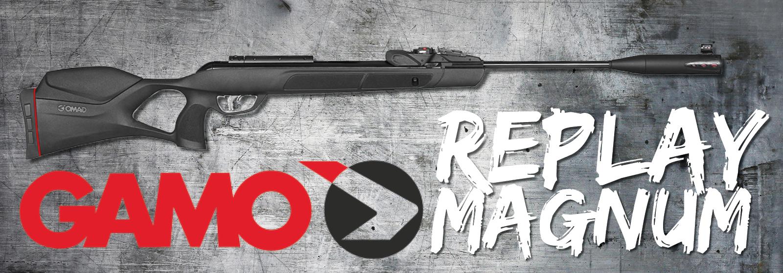 Gamo Replay Magnum luftgevær hos AIRGUN.dk