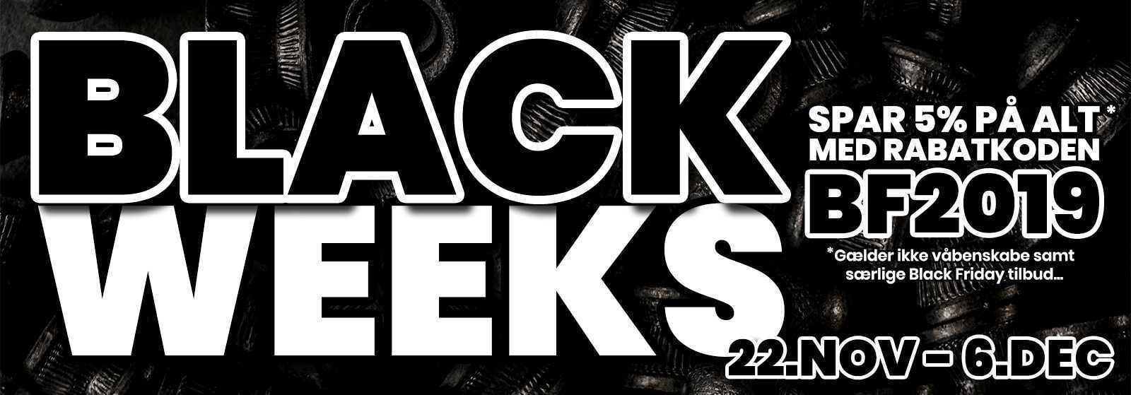 Black Week & Black Friday på AIRGUN.dk