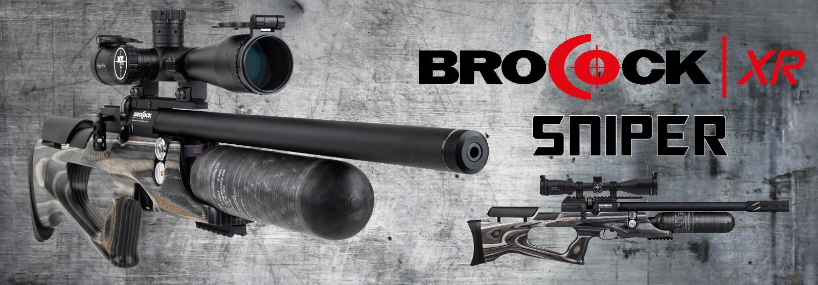 Brocock XR Sniper Laminate Carbon PCP-Luftgevær hos AIRGUN.dk