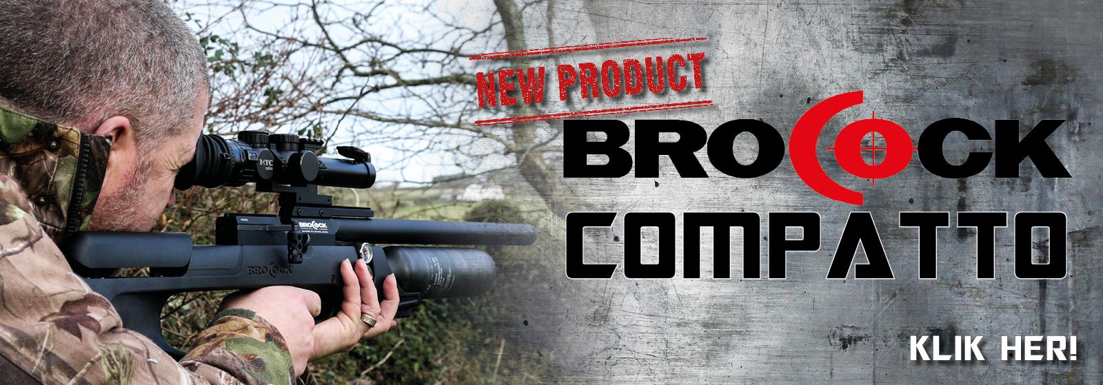 Brocock Compatto PCP-luftgevær hos AIRGUN.dk