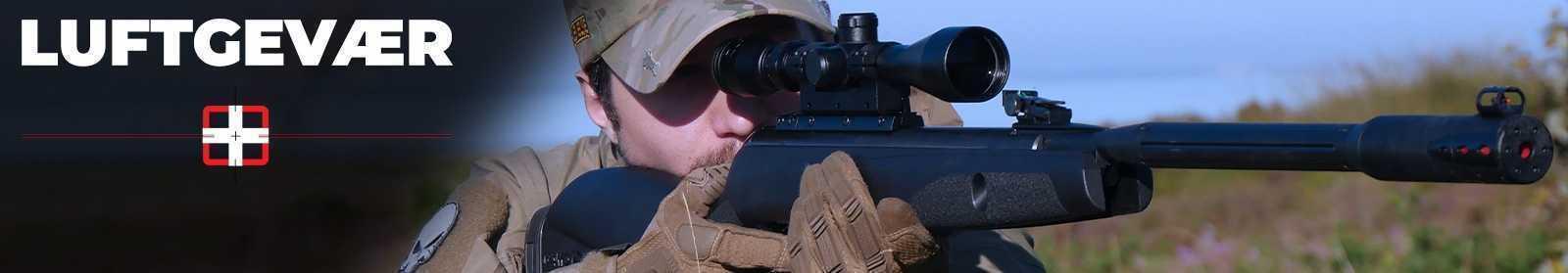 Luftgevær - Køb luftgevær med prisgaranti