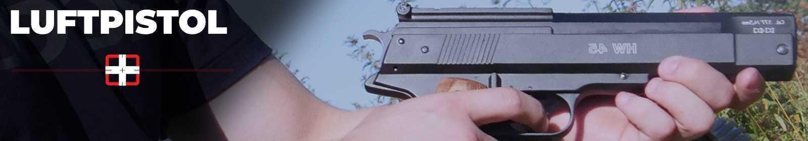 Luftpistoler - Køb luftpistoler på AIRGUN.dk