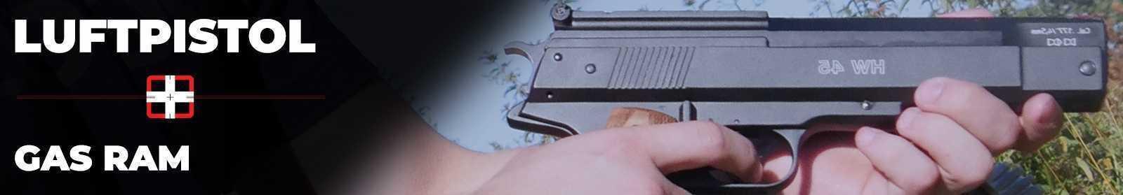 Luftpistol med Gas Ram