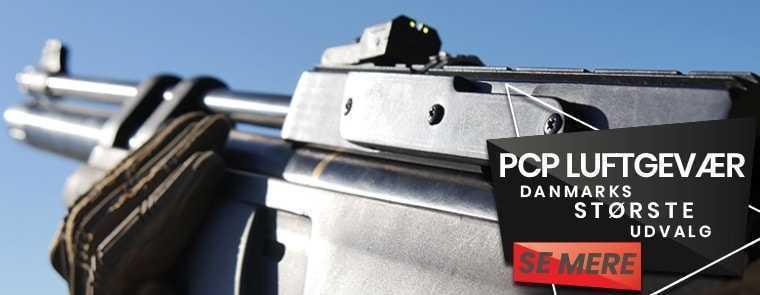 PCP Luftgevær billigt på AIRGUN.dk