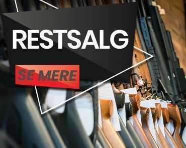 Restsalg af luftvåben, buer og hagl hos AIRGUN.dk